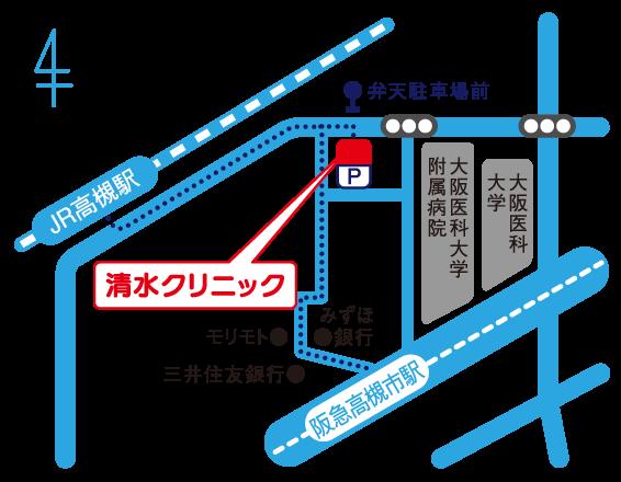高槻駅 駐車場